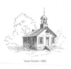 103 Union Church drawing